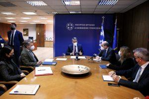 Μητσοτάκης:Το Υπουργείο Εργασίας καλείται τώρα να προχωρήσει σε πολύ σημαντικές μεταρρυθμίσεις στο εργασιακό περιβάλλον